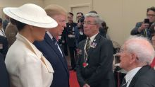 Cheeky D-Day veteran, 93, tells Melania Trump: 'If only I was 20 years younger'