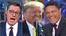 Trump Keeps Mangling Names In India And American Late Show Hosts Are Having A Blast
