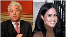 John Bercow says Meghan Markle was victim of 'explicit and obnoxious racism'