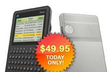 "Peek handheld: $49.95 for ""today only"""
