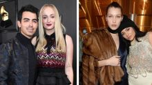 Joe Jonas, Sophie Turner and Bella Hadid just impersonated Kylie Jenner and it's hilarious