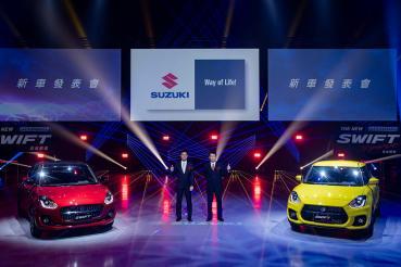 Suzuki推出油電二部曲 Swift Hybrid、Swift Sport Hybrid幻電型動超香上市