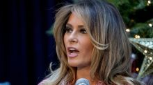 Melania Trump's Positive Poll Numbers Plunge By Double Digits In New Survey