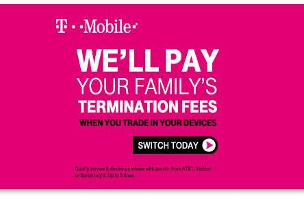 Leaked T-Mobile ad suggests it'll pay for families to leave its rivals