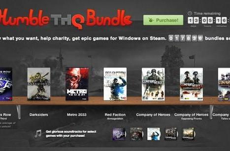 Humble Bundle teams with THQ for Darksiders, Metro 2033, Saints Row: The Third on the cheap