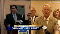 Mayoral candidates drum up support
