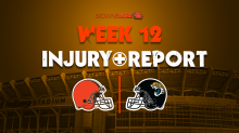 Final Browns injury report for Week 12: Denzel Ward, Sheldrick Redwine ruled out