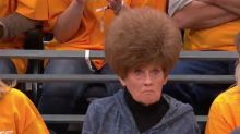 Basketball fans distracted by this woman's hair during playoffs, calling it the 'only good thing' of the game