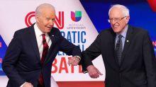 Biden courts Sanders voters with student loan, healthcare policies