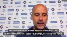 """City escluso dalle coppe, Guardiola: """"Verdetto TAS, sono ottimista"""""""