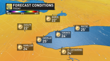 The 'best' weather is on the way for people in Central, Eastern Canada