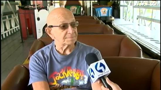 Coaster fan gets 80 rides for 80th birthday