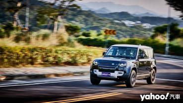 【新車速報】純粹本色值得捍衛!Land Rover全新Defender 110 P300台中越野/道路試駕!