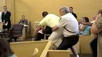 Courtroom breaks out into chaos in Maryland