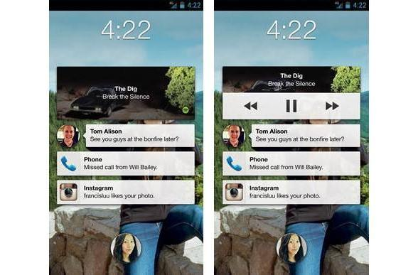Facebook brings lock screen music controls to Home, animated stickers to all Android users