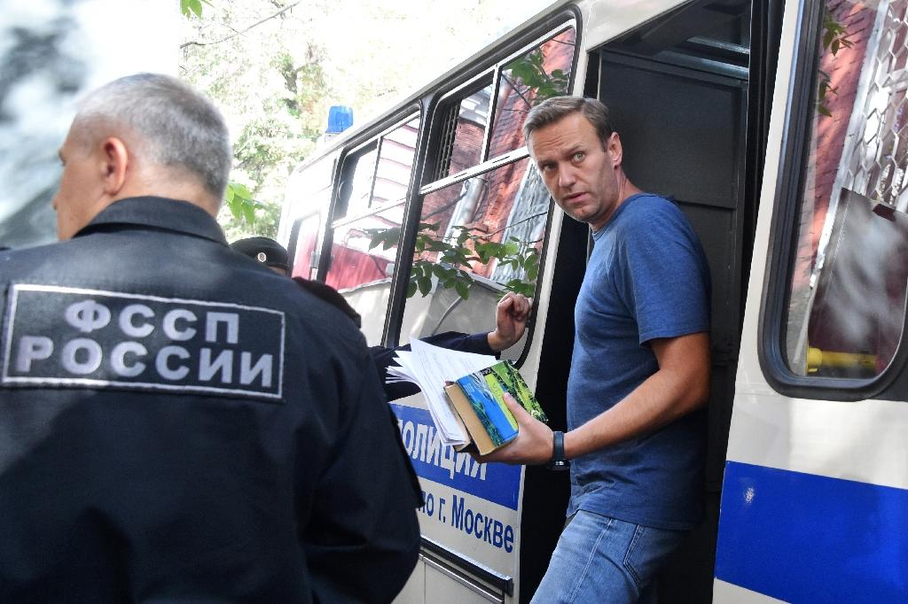 Navalny was detained on Saturday evening outside his home in Moscow. His charges pertain to an unsanctioned protest he organised on January 28, violating Russia's strict laws which forbid any public event without city hall's authorisation