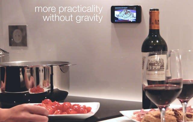 iPhone case defies gravity, sort of