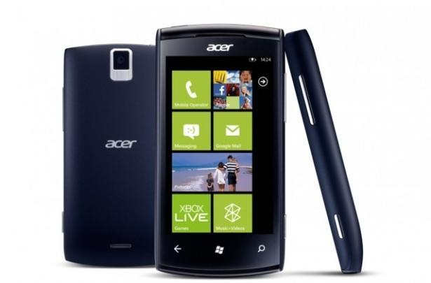 Acer's first venture into Windows Phone arrives in France as the Allegro