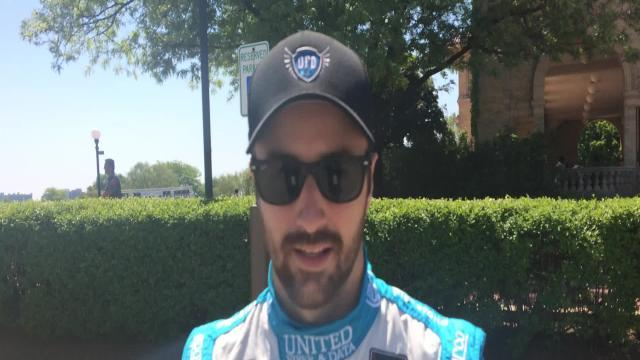 James Hinchcliffe tells us what he loves about Detroit