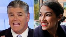 Hannity Tries To Give New Nickname To Alexandria Ocasio-Cortez, Fails Miserably