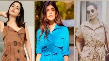 Sonam Kapoor, Sanjana Sanghi And Hina Khan Flaunt Their Belted Dresses And Now It's Your Turn!