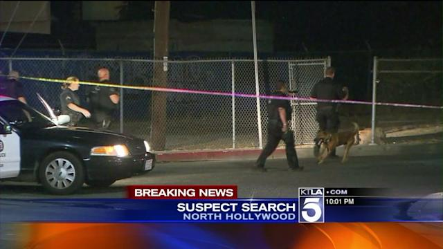 Armed Suspect Search Shuts Down North Hollywood Neighborhood