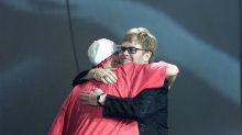 Oscars 2020: Eminem reunites with 'uncle' Elton John backstage at Academy Awards