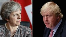 'No new ideas': Theresa May slaps down Boris Johnson over attack on her Chequers plan