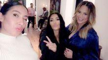 Kim Kardashian threw Chrissy Teigen a baby shower
