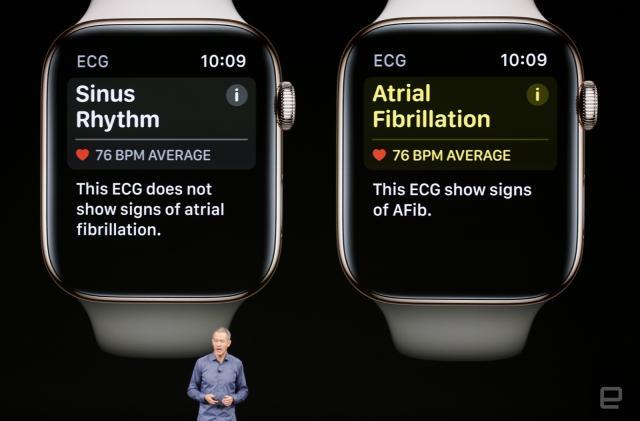 Apple's latest Watch can sense falls and heart irregularities