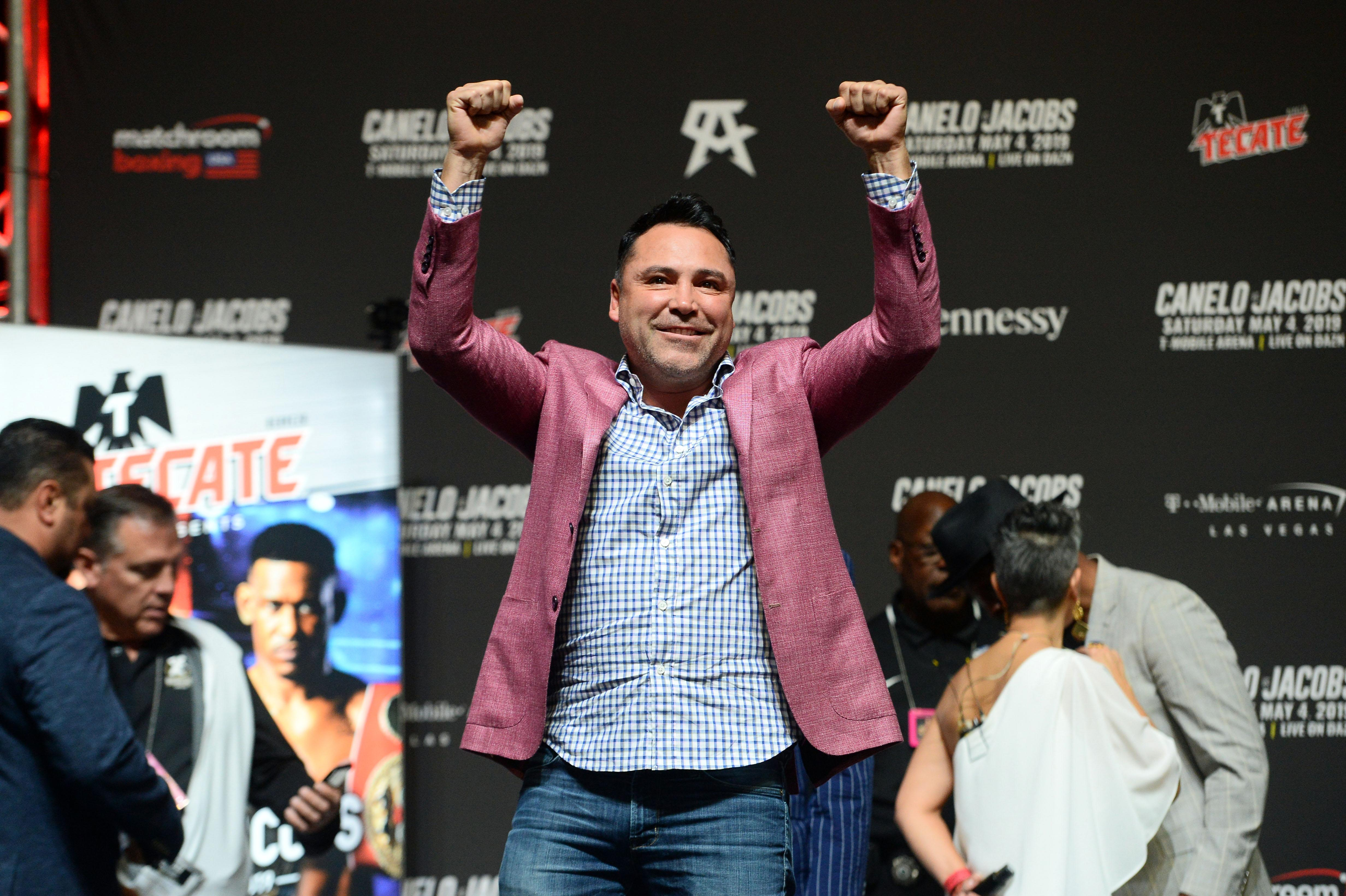 Boxing and business champ Oscar De La Hoya says his toughest fight took place outside the ring
