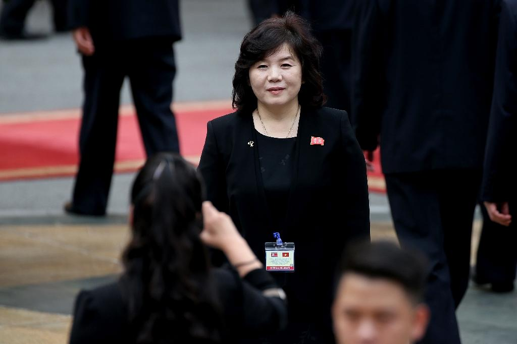 North Korean Vice Minister of Foreign Affairs Choe Son-Hui said her country will not 'yield to US demands' over denuclearization