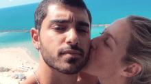 Luana Piovani beija o namorado em Israel: 'Juntos novamente'