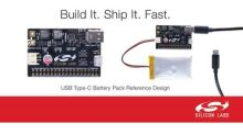 Silicon Labs Reference Design Simplifies Development of USB Type-C Rechargeable Battery Packs