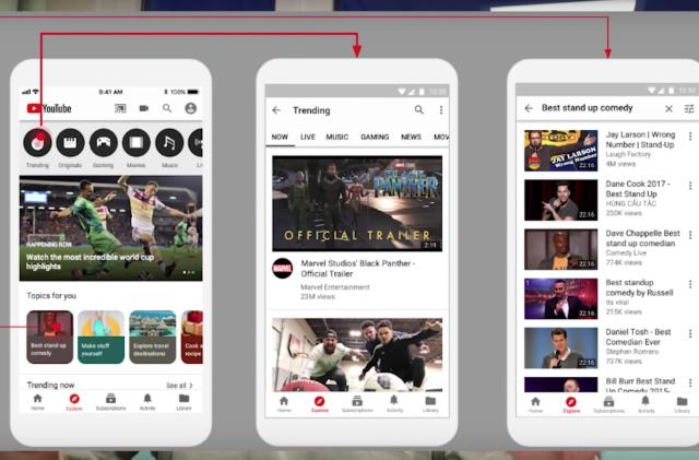 YouTube tests Explore tab for even more video recommendations