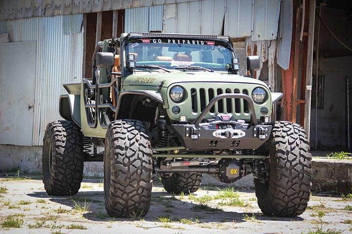 Jeep Wrangler Tj Build >> The 'JK Crew' is a Jeep Wrangler Cranked Up to 11