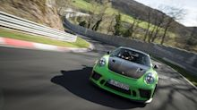 Porsche 911 GT3 RS Laps Nurburgring Nordschleife Circuit in Six Minutes, 56.4 Seconds