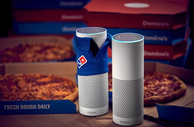 Alexa will now order you a Domino's pizza in the UK