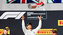 French GP: Hamilton cruises to win as Vettel hits Bottas