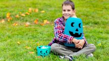 Here's why you'll be seeing teal and blue pumpkins on Halloween