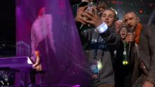 Justin Timberlake rocks halftime show with Prince tribute and #Selfiekid