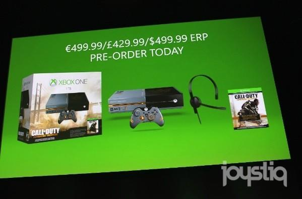 Call of Duty: Advanced Warfare Xbox One bundle unveiled