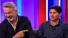 Sam Neill Humiliated By 13-Year-Old Co-Star On The One Show