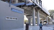 Con estación elevada, el tren vuelve a Lisandro de la Torre
