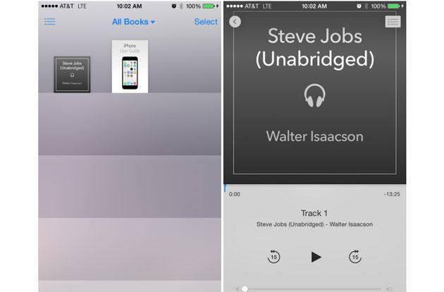 Apple finally realized that audiobooks aren't music