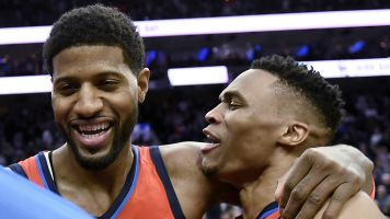George's four-point play wins game for Thunder