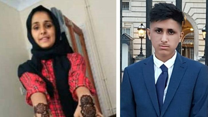 Two siblings died after playing game to see how far they could swim out to sea, inquest finds