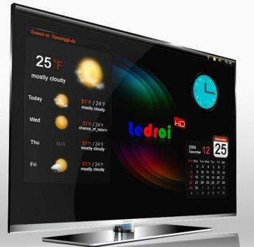 GPNC Korea announces the first me-too Android HDTV