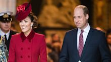 Prince William and Kate Middleton wish royal fans a 'safe and happy Easter' with picture of their London home