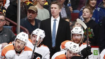 What's going on with Hakstol and the Flyers?